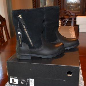 Sorel Foldover Waterproof Insulated Zip Leather 👢